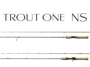 Shimano Trout One NS S63L spinning rod F/S from Japan