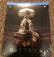 Chicago Blackhawks Hat Trick BLURAY Stanley Cup Championship 2015 NEW SEALED OOP
