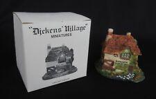 "Dept 56 Dickens Village Miniature in Box - ""Butcher"" 1986"