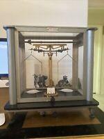 Vintage Cenco Scientific Balance & Display Scale Very Rare!