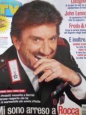 TV Sorrisi e Canzoni n°43 2003 Gigi Proietti Lucio Dalla John Lennon [D11]
