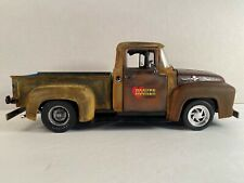 1:18 1956 ford f-100 Custom Barn Find Unrestored Weathered Rusty Rusted Junk