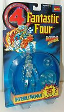 Fantastic Four FF4 Marvel Clear Invisible Woman w/Force Sheild - Toy Biz 1996