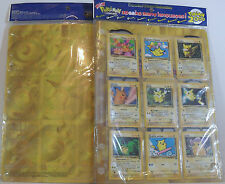 POKEMON PIKACHU WORLD COLLECTION set completo 9 card MINT