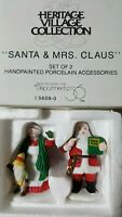 Department 56 SANTA & MRS. CLAUS 5609-0 NIB