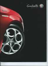 Alfa Romeo Giulietta Sprint 2014 Glossy Fold out Brochure