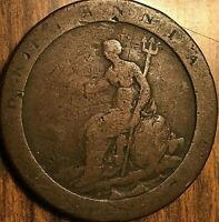 1797 GREAT BRITAIN GEORGE III CARTWHEEL PENNY COIN