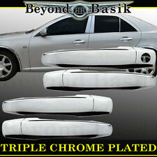 2004-2009 CADILLAC SRX Chrome Door Handle Covers 4 door w/o PSK Overlay Trim