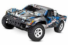 Traxxas Slash RTR Blau 1/10 2,4Ghz Brushed Short Course Truck 58024 SCT RC-Car