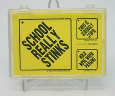 Snotty Signs Stickers 1986 Topps Set of 44 Sticker Trading Cards NM/M