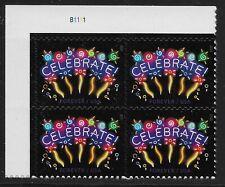 US Scott #5019, Plate Block #B1111 2015 Celebrate VF MNH Upper Left
