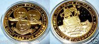Apollo 11 Gold Coin Buzz Aldrin Lightyear Sci-Fi Film Movie Moon Landing NASA US
