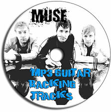 40 x MUSE STYLE MP3 ROCK INDIE GUITAR BACKING TRACKS JAM TRAXS CD ANTHOLOGY