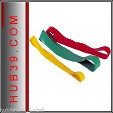 Kit di Elastici ad Anello /elastici elastico fitness col.Rosso Verde Giallo kit