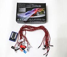 GT POWER 12 LED Flashing Head Light Lamp System Kit RC Car 1/10