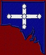 SOUTHERN CROSS FLAG IN STATE OF SOUTH AUSTRALIA SHAPE