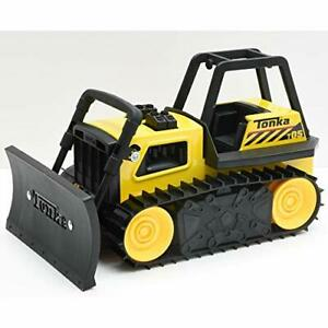 Tonka 6027 Steel Classic Bulldozer, Bulldozer Truck Toy for Children, Kids