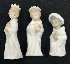 Lladro Nativity Mini Ornaments Three Kings Reyes Set #5729 W/Box