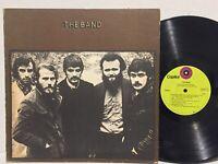 The Band 1st Self Titled VG+ ORIG GREEN RL Ludwig KILLER Cripple Creek DixieDown
