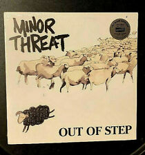 MINOR THREAT - OUT OF STEP LP NEW & SEALED 2008 HARDCORE PUNK ROCK HC DISCHORD