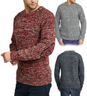 NEUF Pull homme Tourbillon tricoté fil Pull col rond top - Taille S/M/L/XL