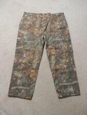liberty camo cargo hunting pants real tree hardwood pattern 3X