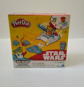 Star Wars Play-Doh Set Cans Heads  from Disney 3+ Years~ Brand New