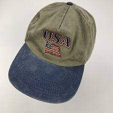 USA American Flag Ball Cap Hat Adjustable Baseball