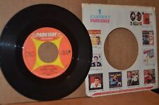 JOHNNY MAESTRO: HEARTBURN & TRY ME; 1966 PARKWAY 987 VG++ NORTHERN SOUL 45 RPM