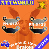 Middle Brake Pads Polaris 250 Big Boss 4x6 1989-1990