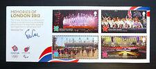 Gb Juegos Olímpicos de 2012 Recuerdos m/sheet ms3406 GATO £ 9,50 u/m abajo cara fp3556
