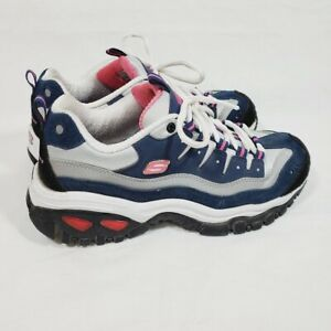 Skechers Energy Wave Linxe Sneakers Size 9 Wide Style 13400W