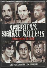 America's Serial Killers. 2 disc doco box. Brand New In Shrink. R4