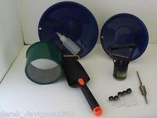 M7 Blue Mini Gold Classifier Screen & Gold Pan Panning Kit
