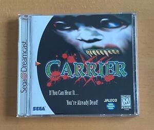 CARRIER - NTSC/US Version - Dreamcast ! Neuwertiger Zustand !