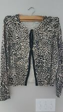 JH COLLECTIBLES Women's Size L 3/4 Sleeve Button Down Paisley Cotton Shirt.