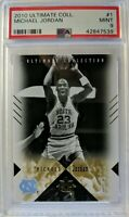 2010 Upper Deck Ultimate Collection Michael Jordan #1, PSA 9, Low Pop 1 only 3^