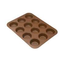 Copper Chef 12 Cup Muffin Pan - As Seen On Tv