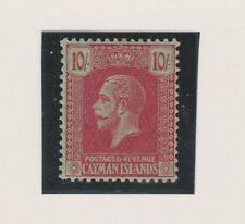 CAYMAN ISLANDS 68 KGV 10sh 1921-22 NH