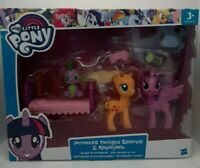 My Little Pony Set Princess Twilight Sparkle + Applejack + baby SPIKE Dragon NOU