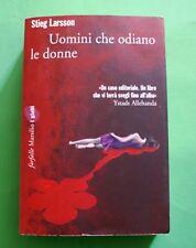 Uomini che odiano le donne - Stieg Larsson - Ed. Marsilio 2009 - Farfalle