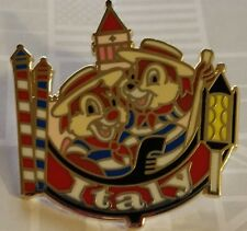 Disney Pin Epcot World Showcase Pin Italy Chip n Dale Free Shipping