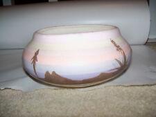 Vintage Southwest Style Art Pottery Planter Cactus Desert Design