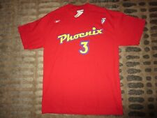 Diana Taurasi #3 Phoenix Mercury WNBA Reebok Red Jersey T-Shirt SM S NEW