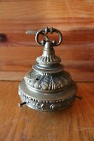 L&LWMC Lamp lantern top finial Brass porcelain 1971 9180 Chandelier Part Vintage