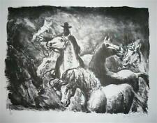 Estampes et gravures du XXe siècle et contemporaines lithographies animaux