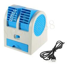 Mini Air Conditioning Fan ventilador 1pc Portable USB Ultra-quiet No Leaves