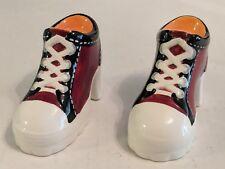 1999 Pelzman's High Heel Sneakers / Tennis Shoes Salt And Pepper Shakers!