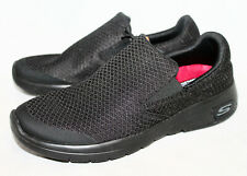 NWOB $70 SKECHERS Marsing Knit Slip On 77275 Wo's 6.5 Eu 36.5 Black Relaxed Fit