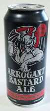 Arrogant Bastard Ale 16 ounce Beer Can - You're Not Worthy®